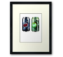 Halo Infection Drinks Framed Print