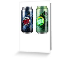 Halo Infection Drinks Greeting Card
