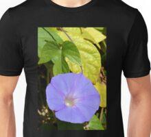 Purple Morning Glory Unisex T-Shirt