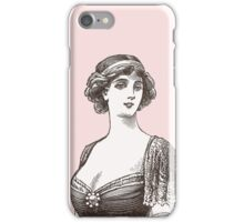 Beautiful Belle Epoque Lady iPhone Case/Skin
