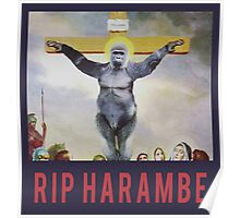 RIP Harambe - Son of God Poster