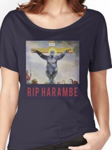 RIP Harambe - Son of God Women's Relaxed Fit T-Shirt