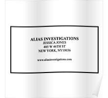 Alias Investigations Poster