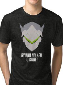 ryujin no ken o kure! Tri-blend T-Shirt