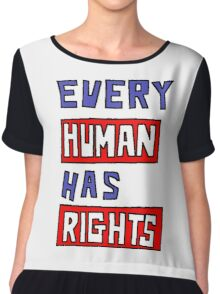 HUMAN RIGHTS Chiffon Top