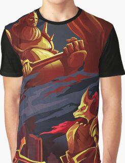 DRAGON SLAYER ORNSTEIN AND EXECUTIONER SMOUGH Graphic T-Shirt