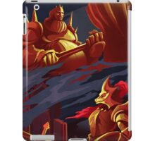 DRAGON SLAYER ORNSTEIN AND EXECUTIONER SMOUGH iPad Case/Skin