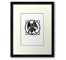 Orcus (dungeons and dragons) Framed Print