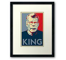 Stephen King Art Framed Print