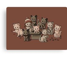 We Aim to Misbehave Canvas Print