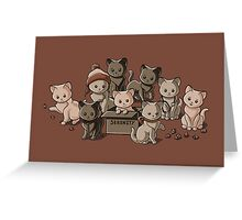 We Aim to Misbehave Greeting Card