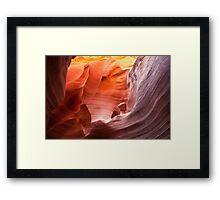 Beauty in an alien world... Rattlesnake Canyon Framed Print