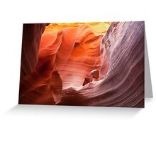 Beauty in an alien world... Rattlesnake Canyon Greeting Card