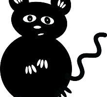 Cute Mischievous Mouse by AntiqueImages