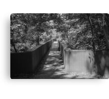 Walkway to James River Park Canvas Print