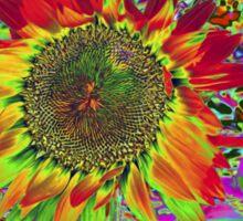 Sunflower: Chroma Fun Sticker