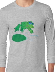 Diving Frog Long Sleeve T-Shirt