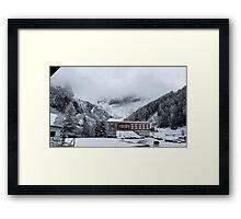 Snowy Trees - Austria Framed Print
