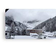 Snowy Trees - Austria Metal Print