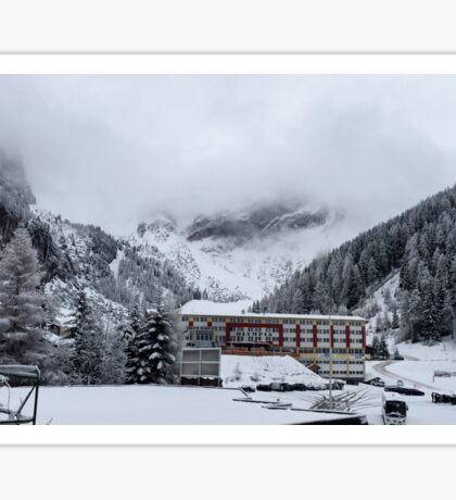 Snowy Trees - Austria Sticker