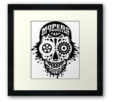 MOPEDS MO PROBLEMS Framed Print