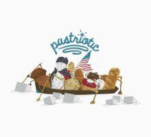 Pastriotic - Washington Crossing the Deleware Baby Tee