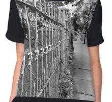 Wrought Iron Fence Chiffon Top