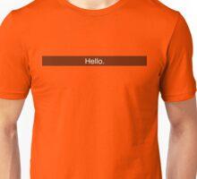 Snapchat - Hello Unisex T-Shirt