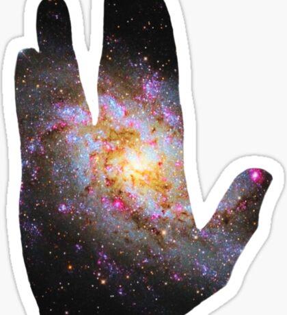 live long and prosper Sticker