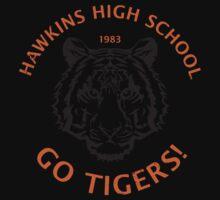Hawkins High School 1983 (aged look) Baby Tee