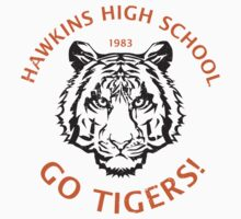Hawkins High School 1983 (aged look) One Piece - Short Sleeve
