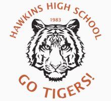 Hawkins High School 1983 (aged look) Kids Tee