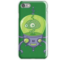 Brainbot Robot with Brain iPhone Case/Skin