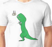 T-Rex Olympic Rings Unisex T-Shirt