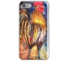Night Rooster iPhone Case/Skin