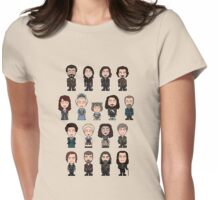 The Musketeers: The Whole Cast (shirt) Womens Fitted T-Shirt
