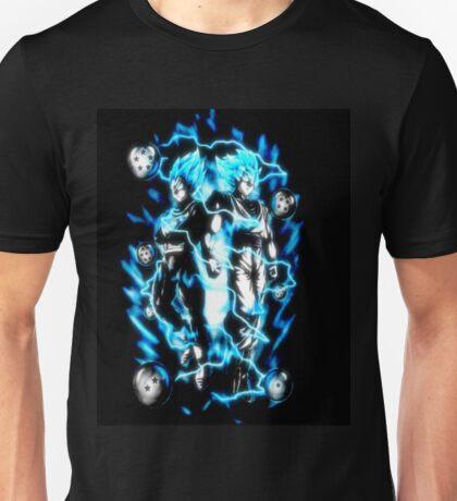 Goku & Vegeta Super Saiyan GoD/Blue Unisex T-Shirt
