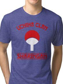 Uchiha Clan Tri-blend T-Shirt