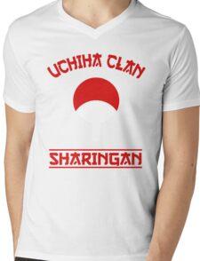 Uchiha Clan Mens V-Neck T-Shirt