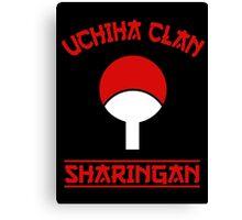 Uchiha Clan Canvas Print