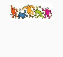Keith Haring Dancing Figures art Unisex T-Shirt