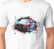 WRC - Dani Sordo's Hyundai i20 Unisex T-Shirt