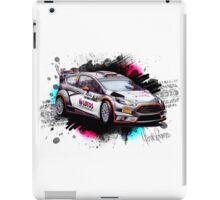WRC - Robert Kubica Ford Fiesta RS iPad Case/Skin