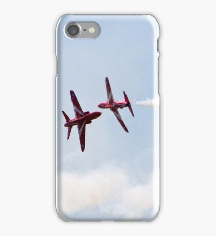 Red Arrows Farnborough Airshow 2014 iPhone Case/Skin
