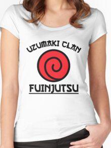Uzumaki Clan Women's Fitted Scoop T-Shirt