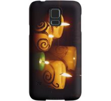 candle light Samsung Galaxy Case/Skin