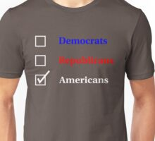 Election Ballot - Americans for Dark T's Unisex T-Shirt