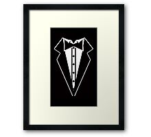 Suit and Bow Tie Framed Print