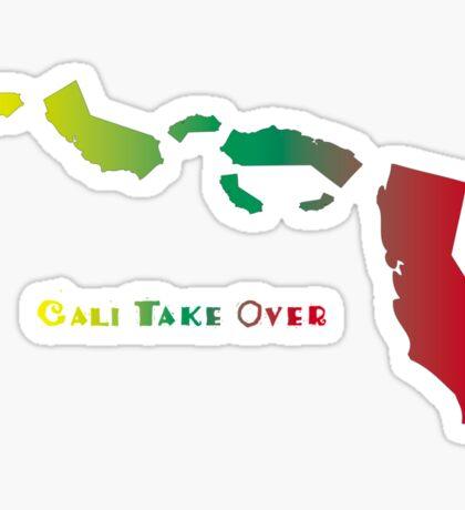 Cali Take Over Sticker