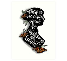 Jane Austen Literary Quote Art Print